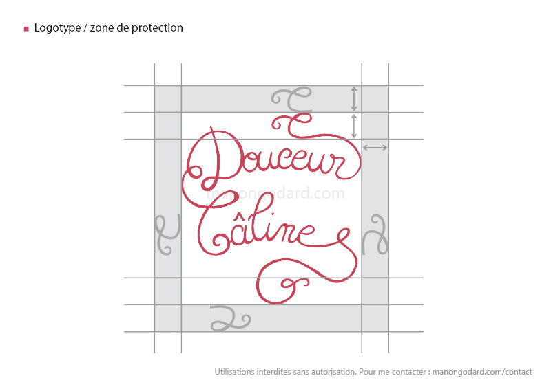 Logotype / zone de protection