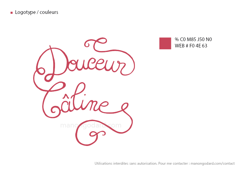 Identite Visuelle Dun Salon De The Patisserie Logo Carte Visite