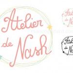 Création du logo de «L'atelier de Nash»