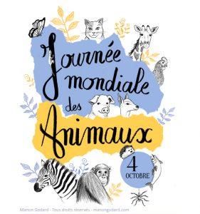 Illustration pour la Journée Mondiale des Animaux
