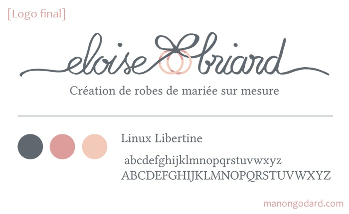Logo Couturiere Creatrice Robes Mariee Mariage
