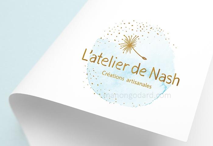 Logo De Latelier Nash Cratrice Bijoux Bougies