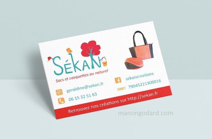 Carte De Visite La Marque SeKaN