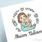 Création du logo «Maison Calisson», maison d'assistantes maternelles