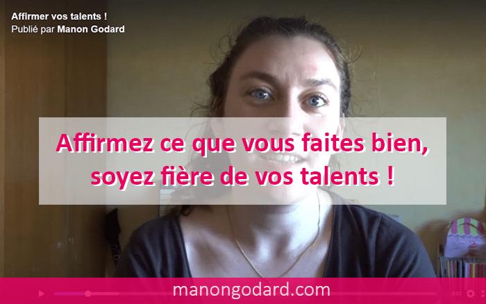 Affirmer vos talents