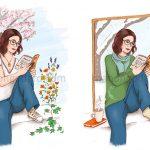 Illustrations pour Chibi, blogueuse lifestyle & bien-être au naturel