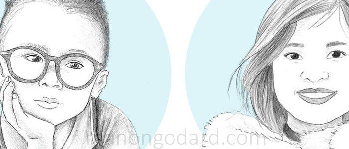 Portraits au crayon à papier (+ vidéo)
