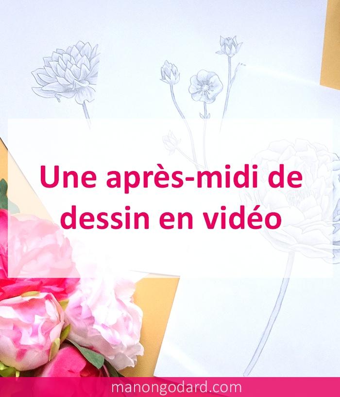 Une Apres Midi De Dessin En Video Manongodard Com