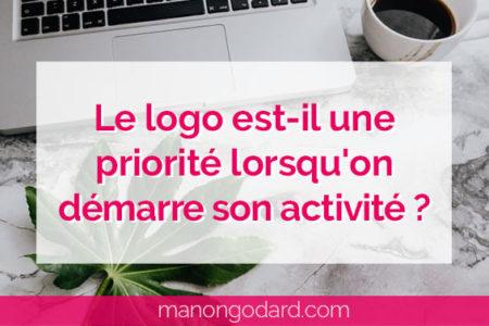 """""""Le logo est-il une priorité lorsqu'on démarre son activité ?"""" par Manon Godard"""